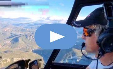 Jesús Calleja muestra Las Médulas al mundo a vista de pájaro desde su helicóptero 3