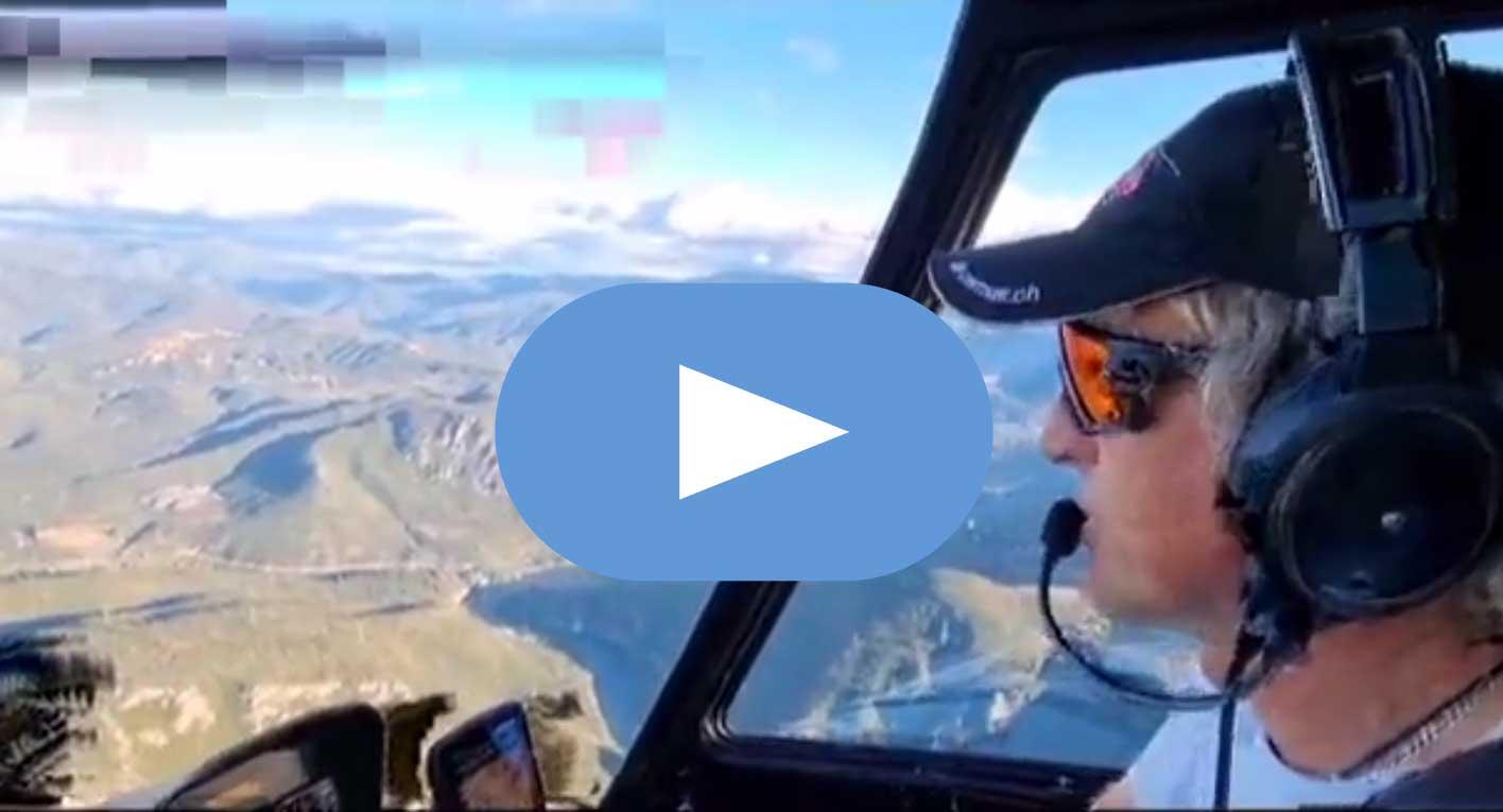 Jesús Calleja muestra Las Médulas al mundo a vista de pájaro desde su helicóptero 1