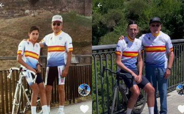 La tierna imagen que se hizo el triatleta José María López en Ponferrada 28 años después 3