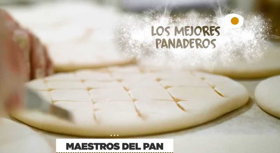 El pan de Hornija será protagonista esta tarde en 'Maestros del pan' de Canal Cocina 1