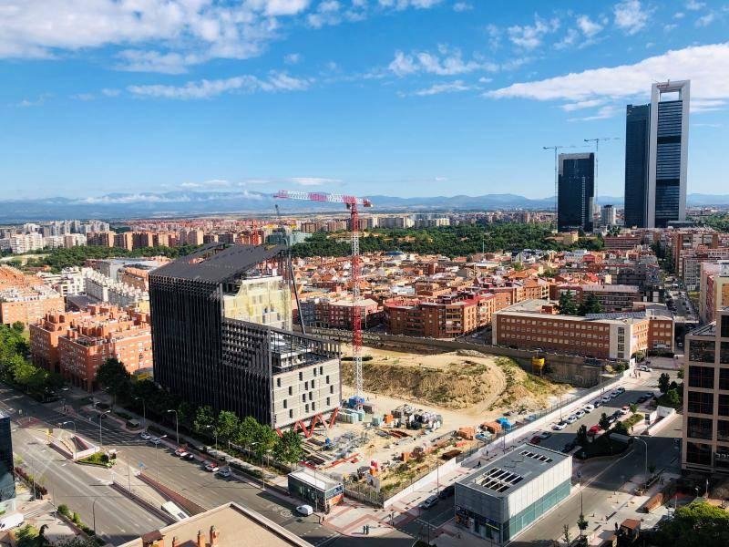 La cristalera Tvitec acristala también la nueva sede de Metro de Madrid 2
