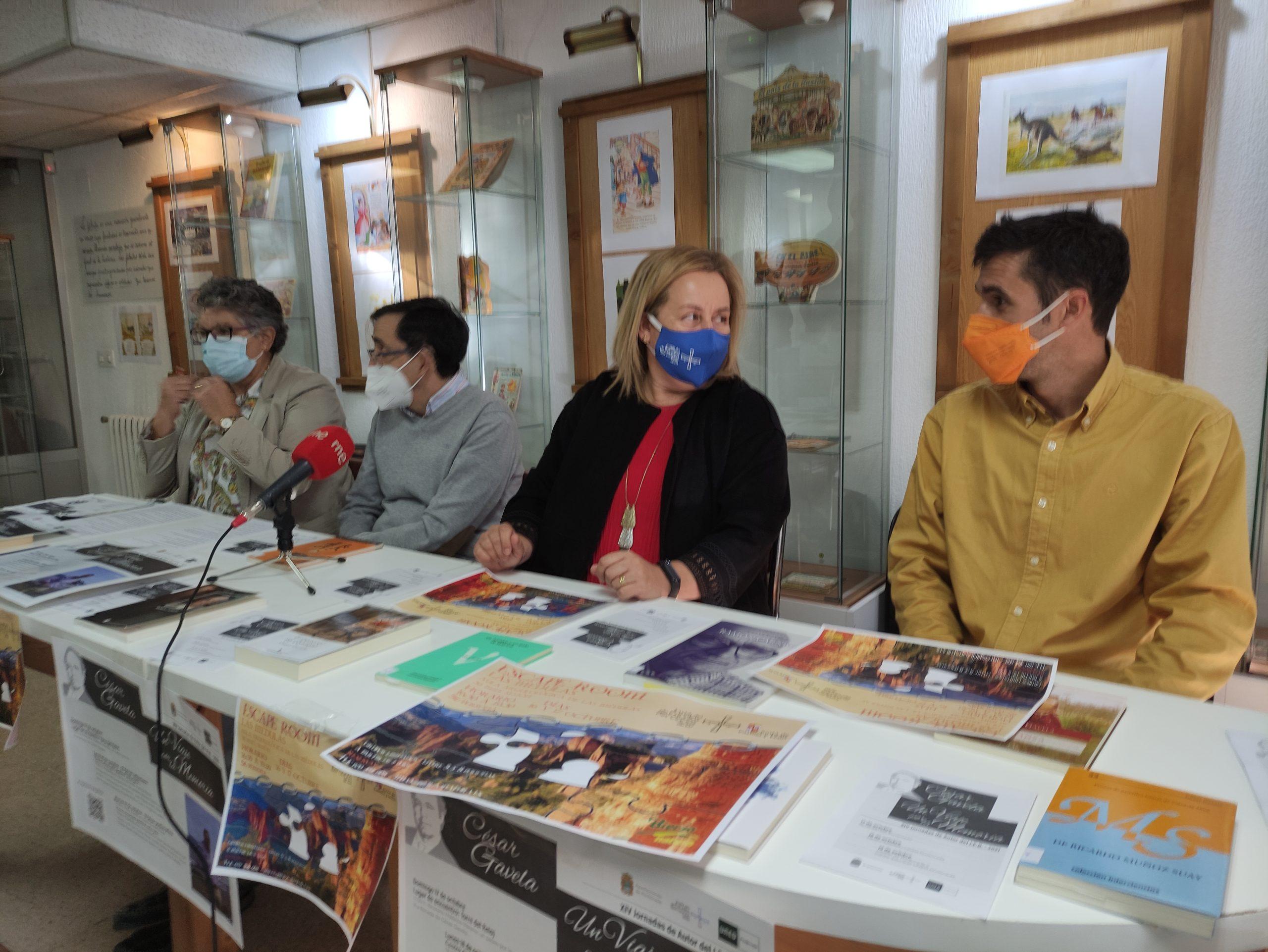 XIV Jornadas de Autor organizadas por el IEB y dedicadas a César Gavela 1