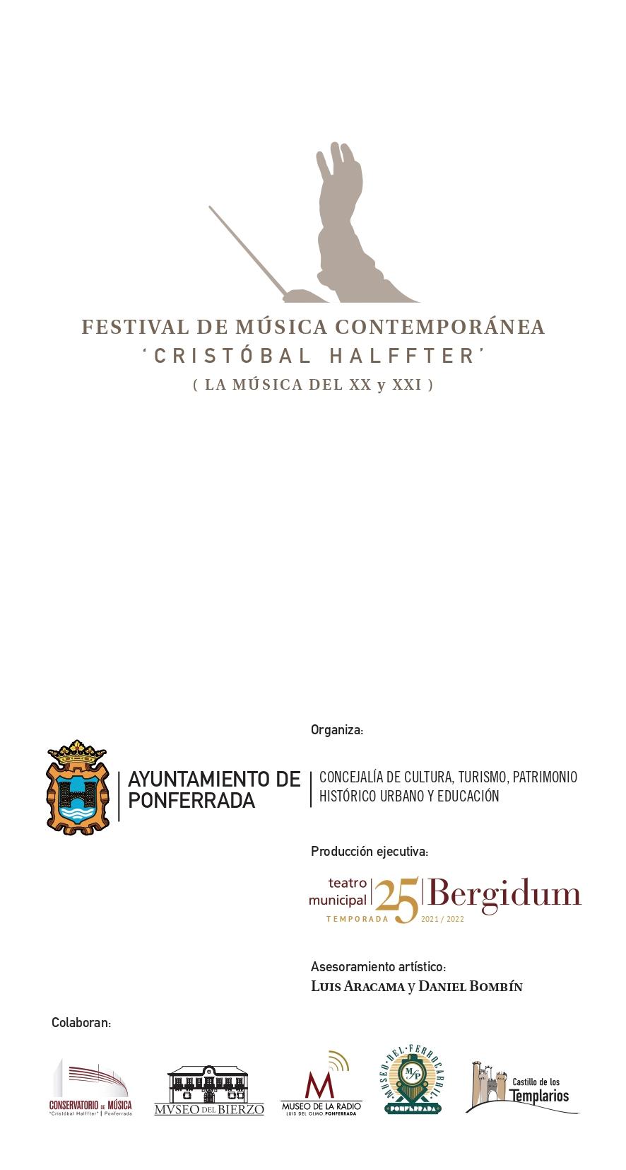 La sexta edición del Festival Cristobal Halfter repasa música del Siglo XX y XXI con estilos para todos los gustos 11
