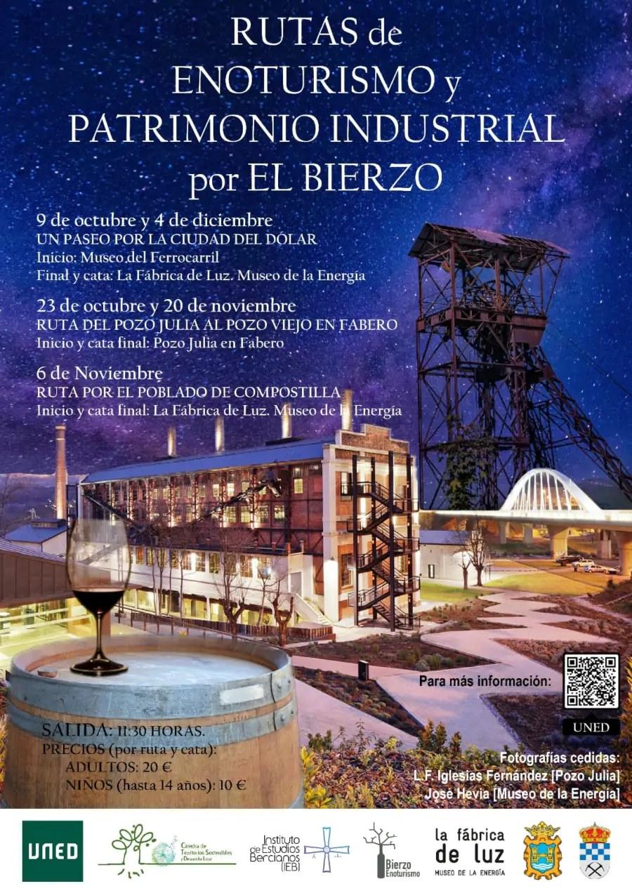 Ruta por el Patrimonio Industrial del Bierzo + Cata Pozo Viejo a pozo Julia