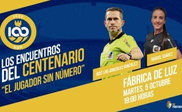 La Ponferradina abre el ciclo de conferencias por el Centenario con una conferencia de los árbitros José Luis González y Raquel Suárez 5