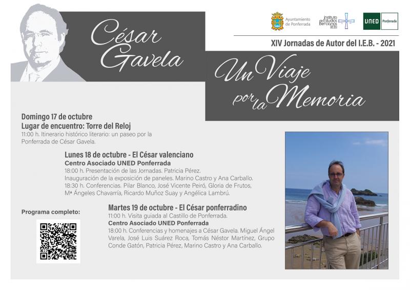 XIV Jornadas de Autor organizadas por el IEB y dedicadas a César Gavela 2