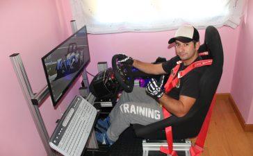 David Honrubia, un berciano a un paso de estar entre los 3 mejores pilotos del campeonato de España virtual de montaña 3