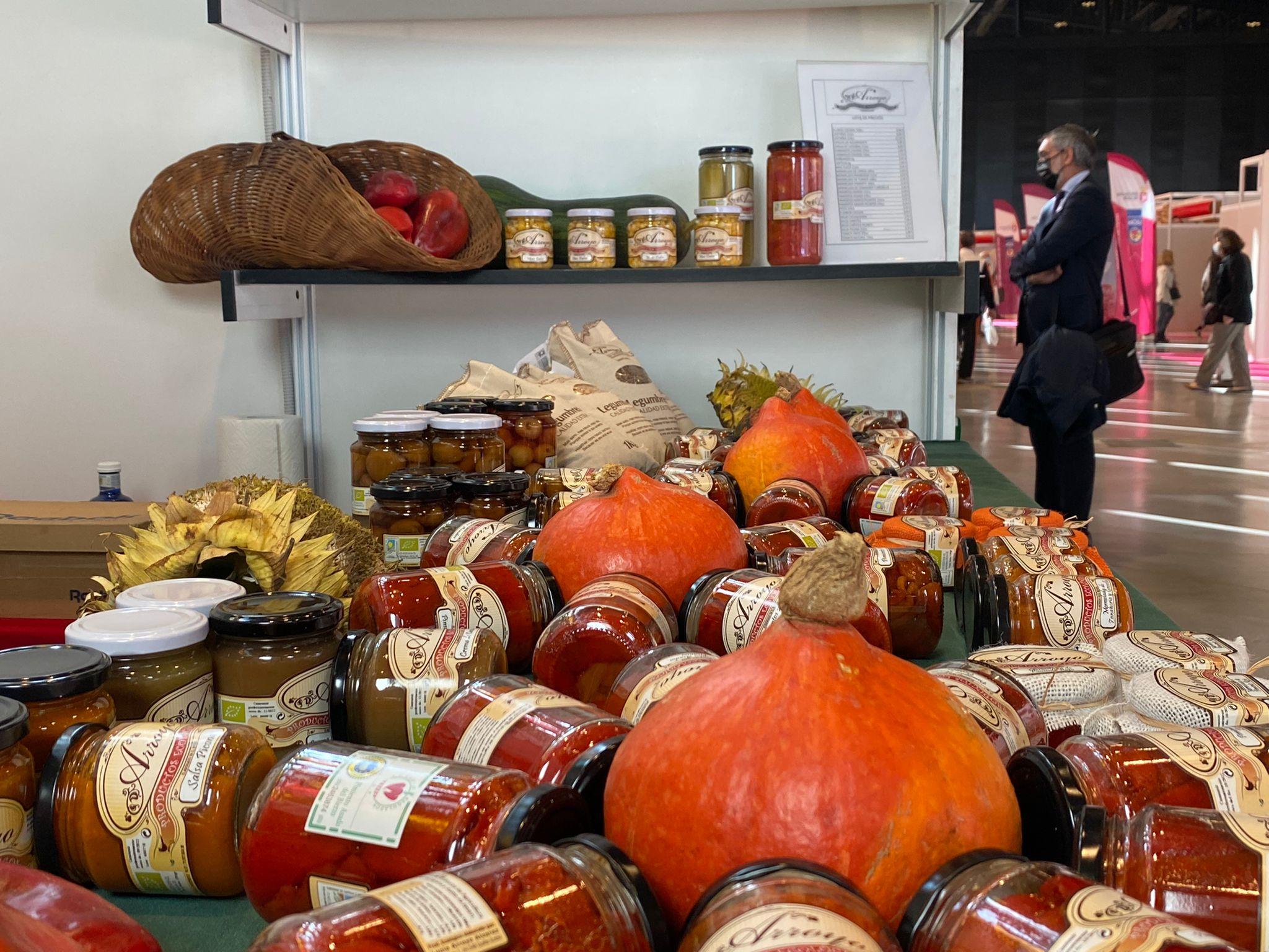 Los ecológicos se abren paso en la<br>Feria de los Productos de León 1