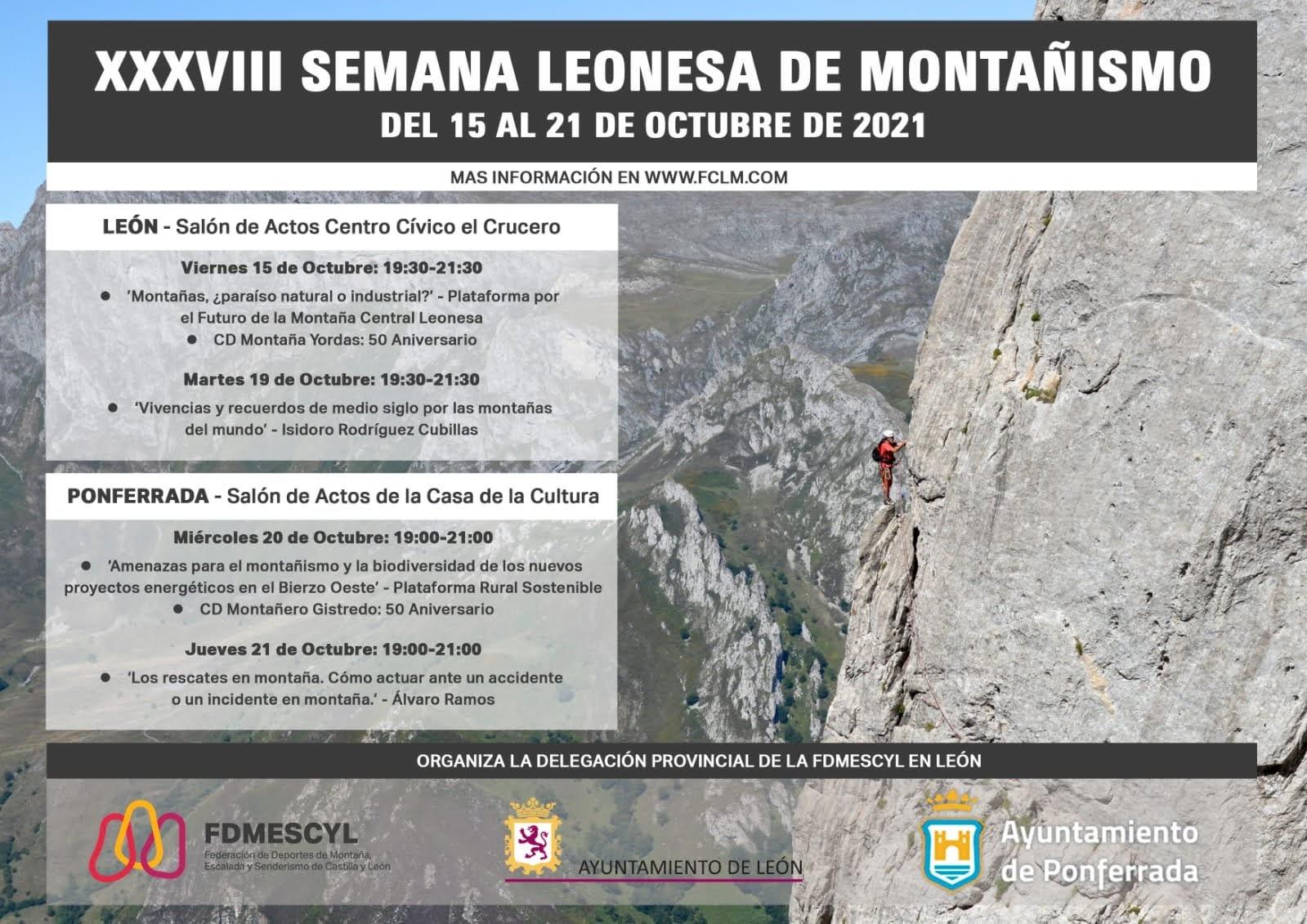 XXXVIII Semana Leonesa de Montañismo 2021 2