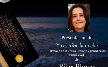 Presentación del poemario 'Yo escribo la noche' de la bembibrense Pilar Blanco en la Casa de las Culturas 3
