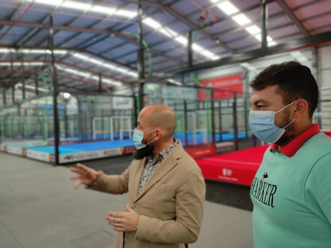 Abre en Bembibre DST Sport, un centro de práctica de pádel de alto rendimiento 6