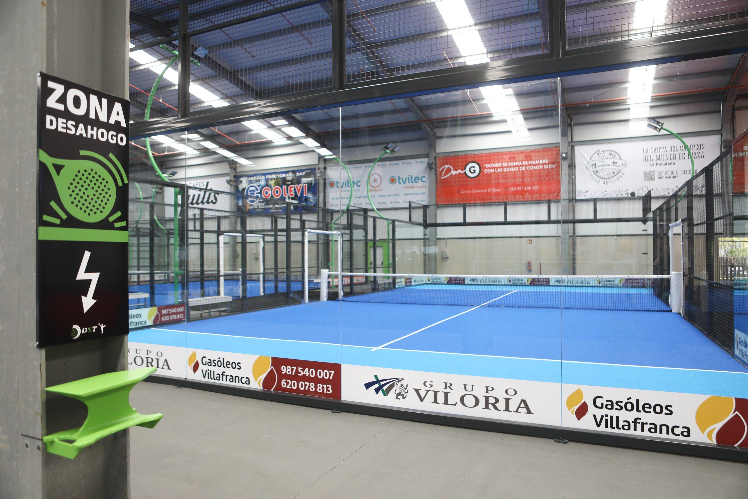 Abre en Bembibre DST Sport, un centro de práctica de pádel de alto rendimiento 12