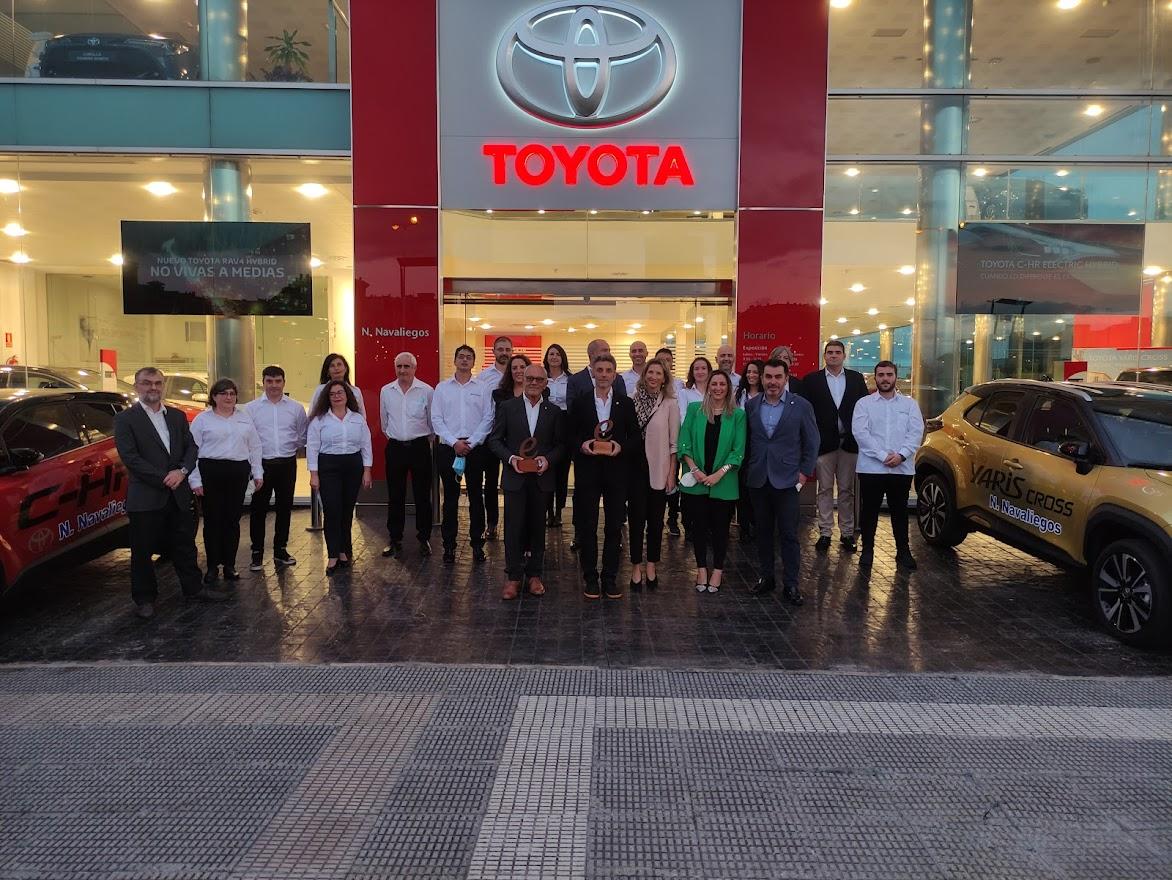 Toyota reconoce a Neumáticos Navaliegos con el premio Excellence Retail como uno de los mejores de su red nacional 7