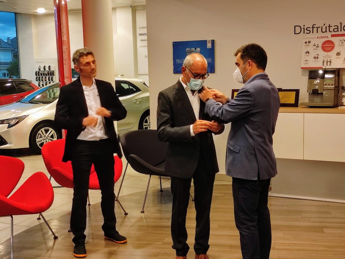 Toyota reconoce a Neumáticos Navaliegos con el premio Excellence Retail como uno de los mejores de su red nacional 4